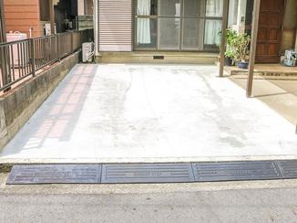 エクステリアリフォーム ご近所様に迷惑をかけないための駐車スペース
